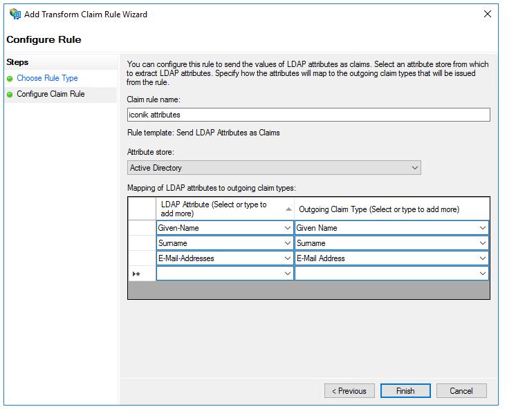 Configure LDAP Attributes