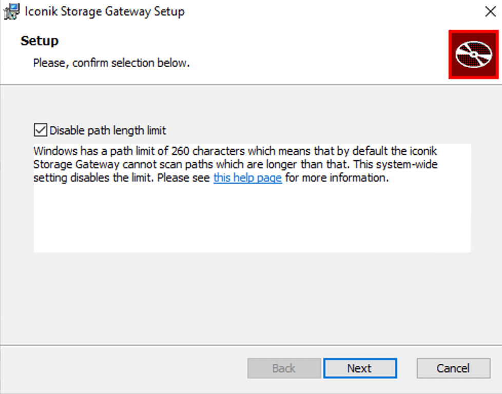 Windows Max Path Setting